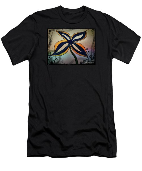Funky Flower Men's T-Shirt (Athletic Fit)