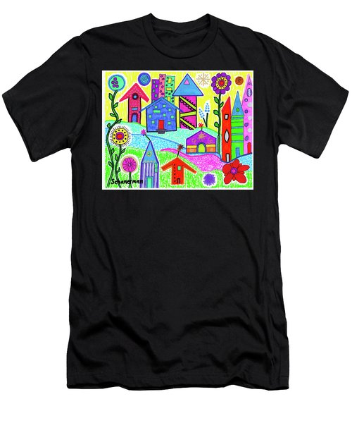 Funky Town 3 Men's T-Shirt (Athletic Fit)