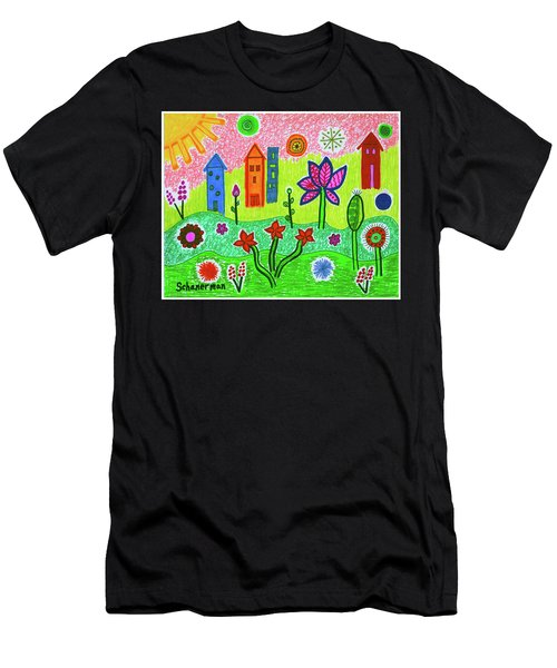 Funky Town Men's T-Shirt (Athletic Fit)