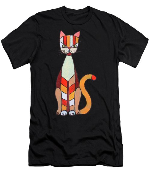 Funny Cat Men's T-Shirt (Athletic Fit)