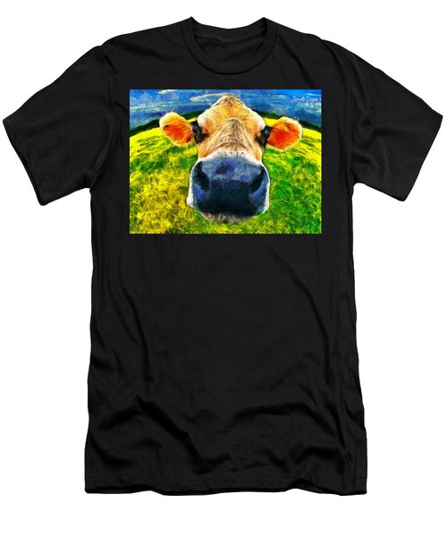 Funnycow Men's T-Shirt (Athletic Fit)