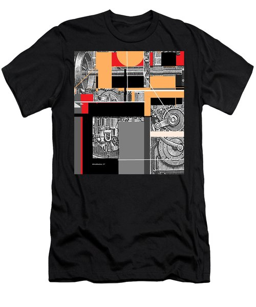Furnace 2 Men's T-Shirt (Slim Fit) by Andrew Drozdowicz