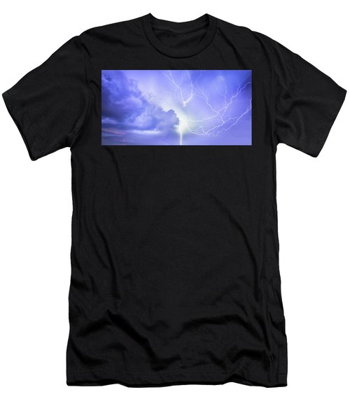 Fury Of The Storm Men's T-Shirt (Athletic Fit)