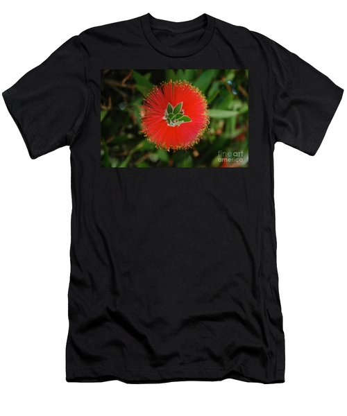 Fuzzy Flower Men's T-Shirt (Athletic Fit)