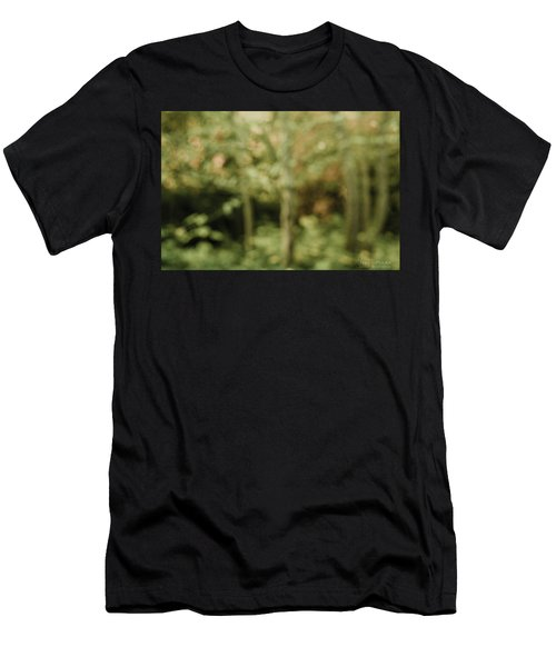 Men's T-Shirt (Athletic Fit) featuring the photograph Fuzzy Vision by Gene Garnace