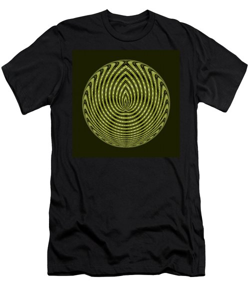 Gaia Medallion  Men's T-Shirt (Athletic Fit)