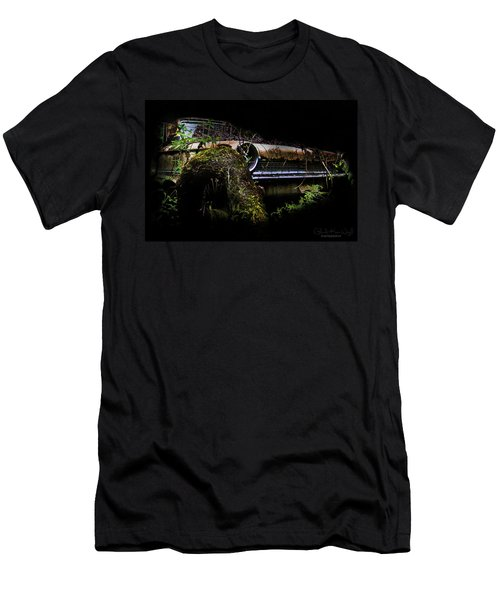 Men's T-Shirt (Athletic Fit) featuring the photograph Galaxie Tree Bromance by Glenda Wright