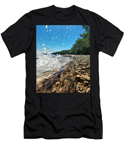 Galaxy Splash Men's T-Shirt (Athletic Fit)