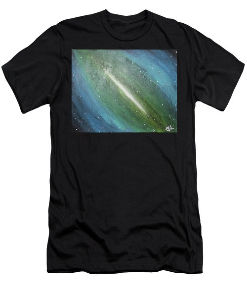 Galaxy's Eye Men's T-Shirt (Slim Fit) by Cyrionna The Cyerial Artist