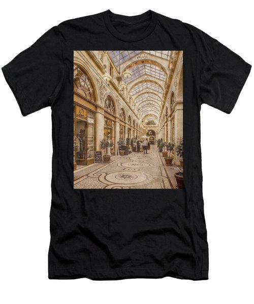 Paris, France - Galerie Vivienne Men's T-Shirt (Athletic Fit)