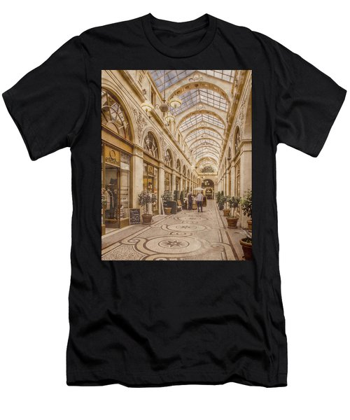 Paris, France - Galerie Vivienne Men's T-Shirt (Athletic Fit)