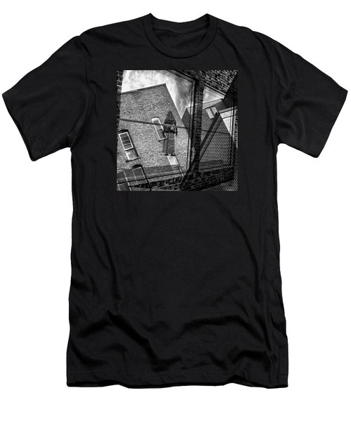 Gallery Noir Men's T-Shirt (Athletic Fit)