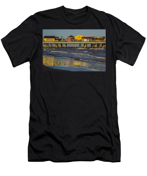 Galveston Pleasure Pier  Men's T-Shirt (Athletic Fit)