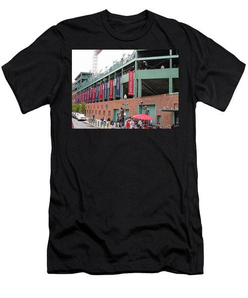 Game Day Men's T-Shirt (Slim Fit) by Barbara McDevitt