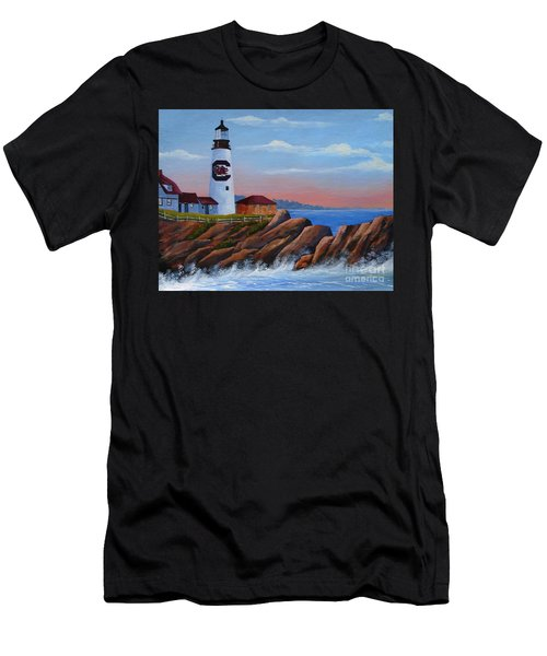 Gamecock Lighthouse Men's T-Shirt (Athletic Fit)