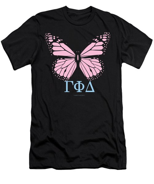 Gamma Phi Delta Classy Butterfly  Men's T-Shirt (Athletic Fit)