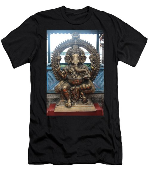 Ganapati Bronze Statue, Fort Kochi Men's T-Shirt (Athletic Fit)