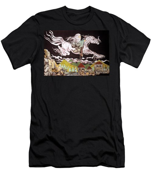 Gandalf And Shadowfax Men's T-Shirt (Athletic Fit)