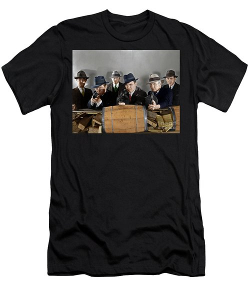 Men's T-Shirt (Athletic Fit) featuring the photograph Gangsters by Granger