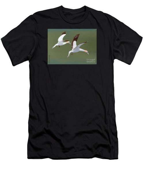 Gannets - Painting Men's T-Shirt (Athletic Fit)