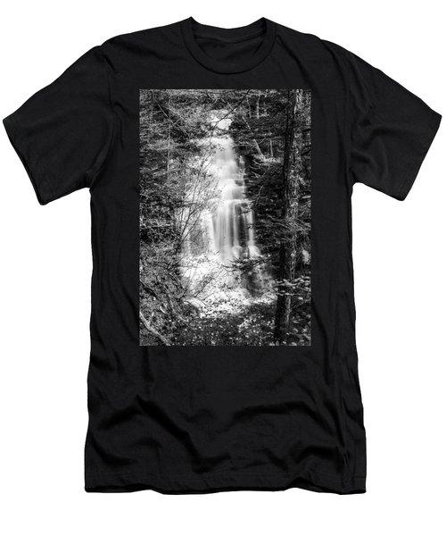 Ganoga Falls - 8907 Men's T-Shirt (Athletic Fit)