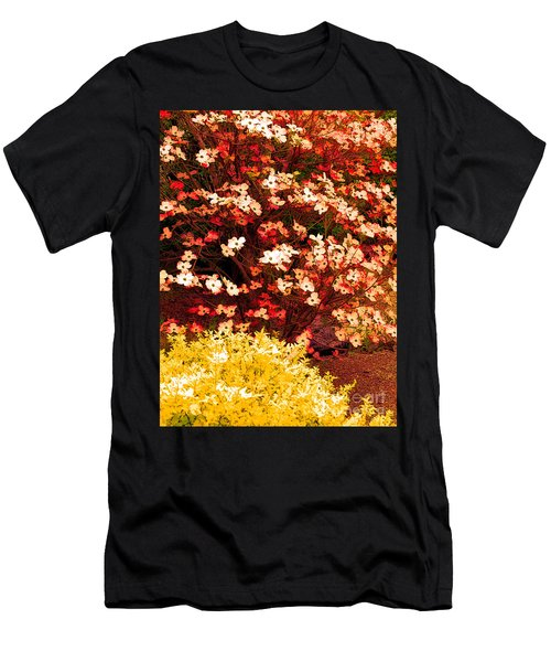 Garden Abstract 2 Men's T-Shirt (Athletic Fit)