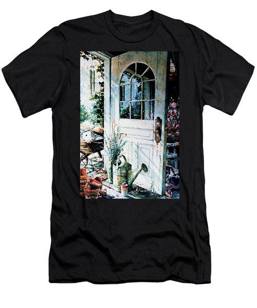 Garden Chores Men's T-Shirt (Athletic Fit)