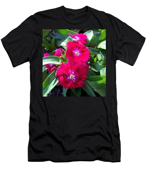 Men's T-Shirt (Slim Fit) featuring the photograph Garden Delight by Sandi OReilly