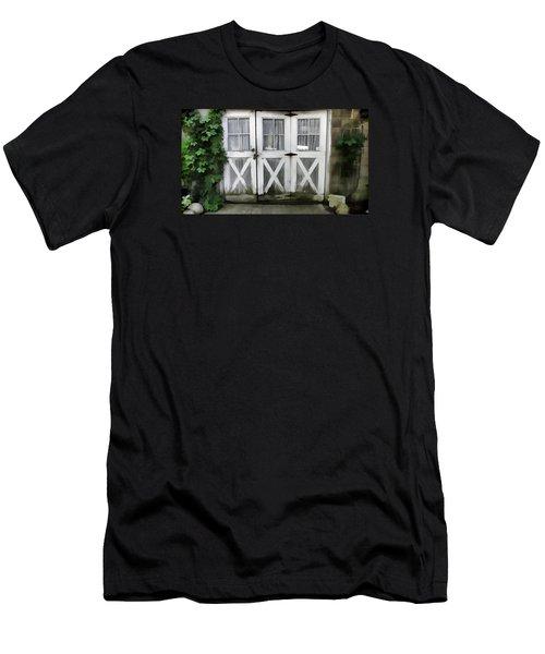 Garden Doors Men's T-Shirt (Athletic Fit)