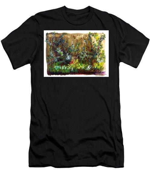 Garden Fence Men's T-Shirt (Athletic Fit)