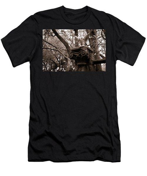 Garden Gargoyle  Men's T-Shirt (Athletic Fit)