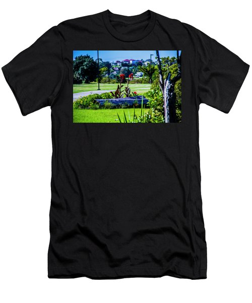 Garden Log Men's T-Shirt (Athletic Fit)
