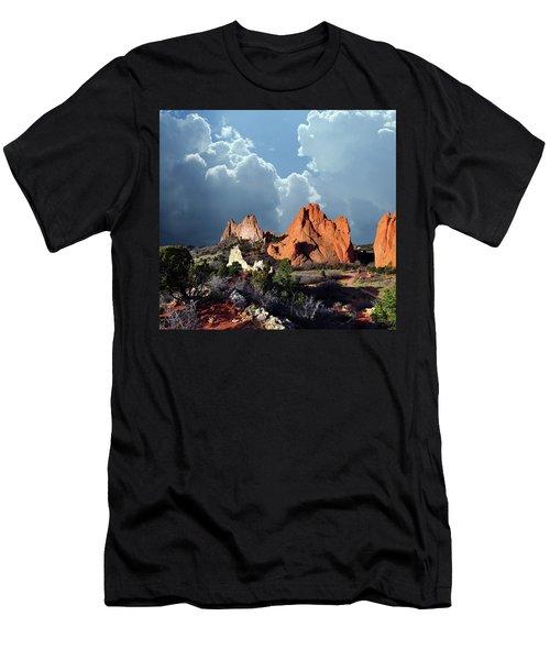 Garden Of The Gods Beauty Men's T-Shirt (Slim Fit) by John Hoffman