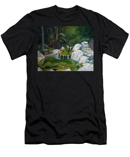 Garden Retreat Men's T-Shirt (Athletic Fit)