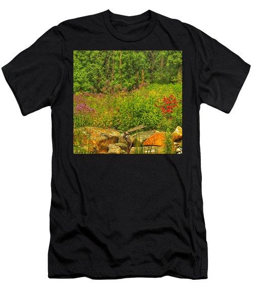 Garden Rocks Men's T-Shirt (Athletic Fit)