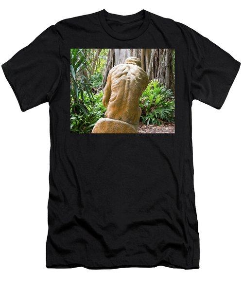 Garden Sculpture 1 Men's T-Shirt (Athletic Fit)