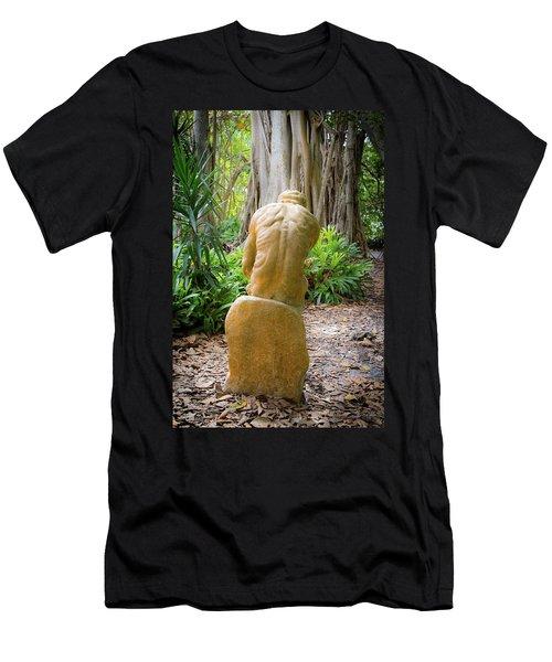 Garden Sculpture 2 Men's T-Shirt (Athletic Fit)