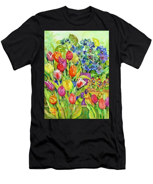 Garden Visitors Men's T-Shirt (Athletic Fit)