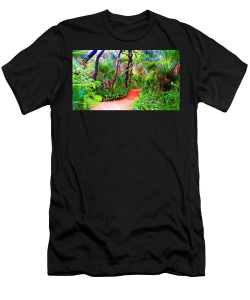 Garden Walk Men's T-Shirt (Athletic Fit)