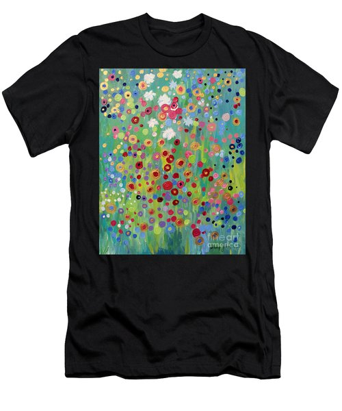 Garden's Dance Men's T-Shirt (Athletic Fit)