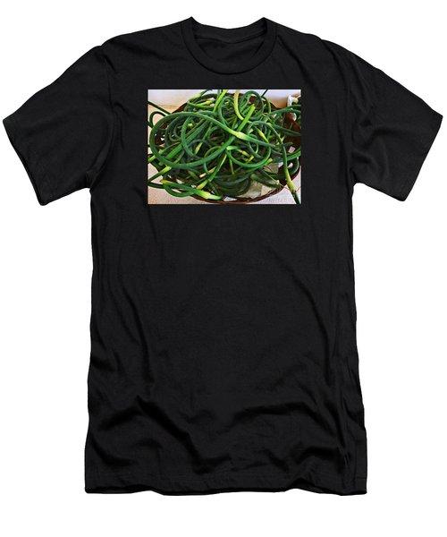 Garlic Stems Men's T-Shirt (Athletic Fit)