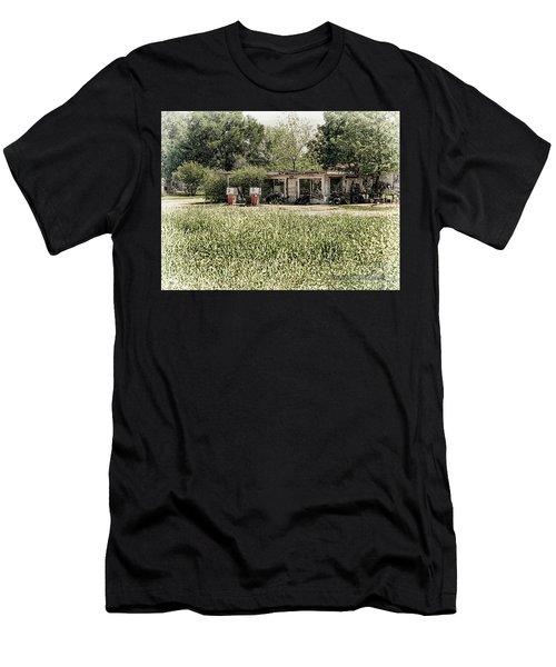 Gas 25 Cents Men's T-Shirt (Athletic Fit)