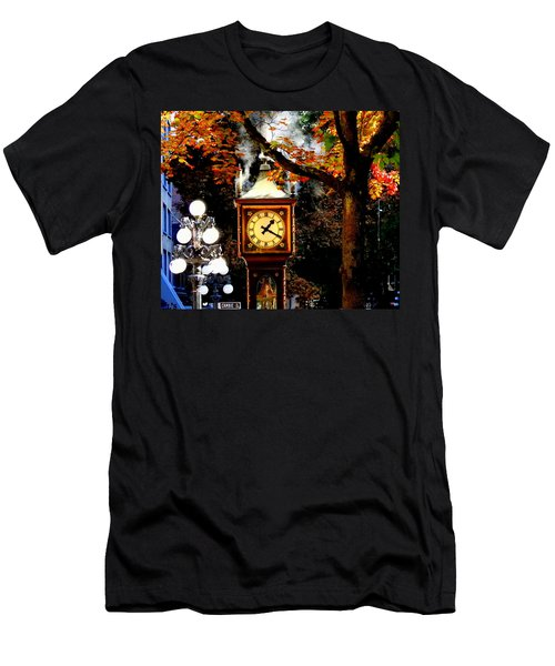 Gastown Steam Clock Men's T-Shirt (Athletic Fit)