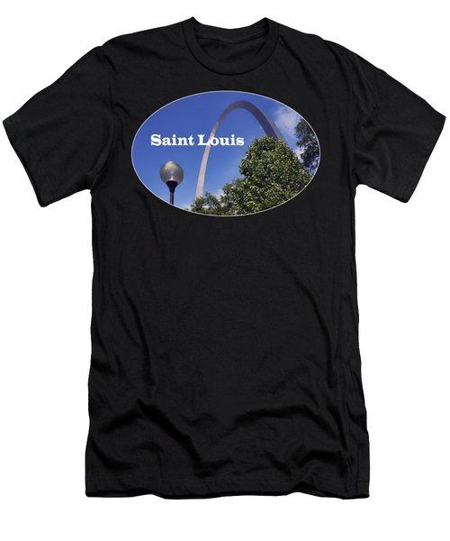 Gateway Arch - Saint Louis - Transparent Men's T-Shirt (Athletic Fit)