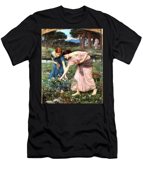 Gather Ye Rosebuds While Ye May Men's T-Shirt (Athletic Fit)