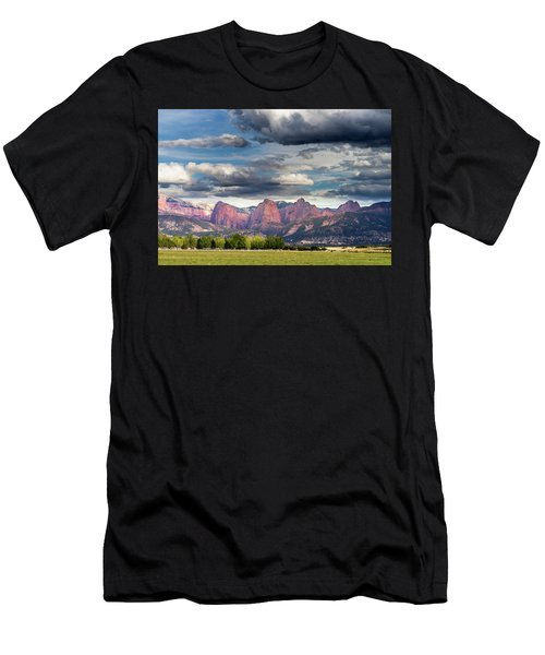 Gathering Storm Over The Fingers Of Kolob Men's T-Shirt (Athletic Fit)