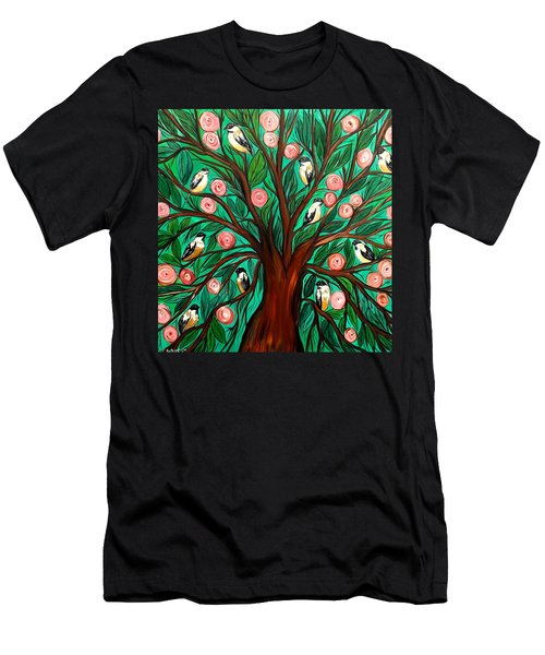 Gathering The Family Men's T-Shirt (Slim Fit) by Lisa Aerts