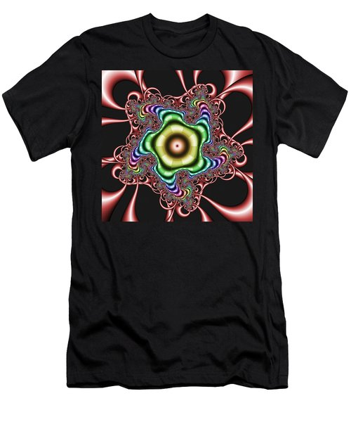 Men's T-Shirt (Athletic Fit) featuring the digital art Gatimmuffs by Andrew Kotlinski