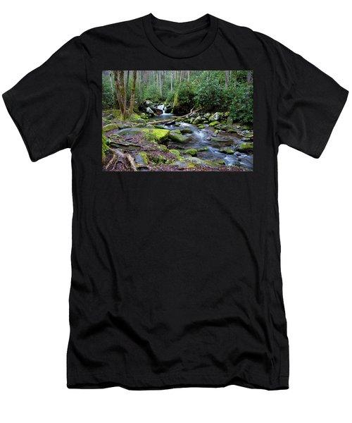 Gatlinburg Water Men's T-Shirt (Athletic Fit)