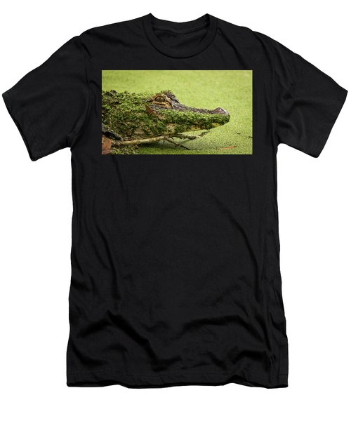Gator Camo Men's T-Shirt (Athletic Fit)